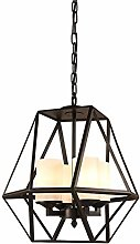 HLL Household Chandeliers,Antique Metal Pendant
