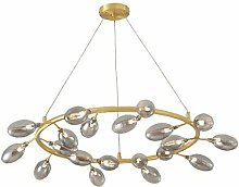 HLL Household Chandeliers,Creative Branch Glass
