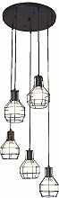 HLL Household Chandeliers,Industrial Spiral