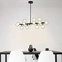 HLL Household Chandeliers,Modern 16-Light Sputnik