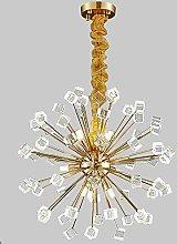 HLL Household Chandeliers,Modern Sputnik Crystal