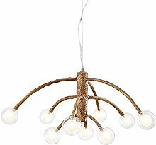 HLL Household Chandeliers,Retro Branch Chandelier