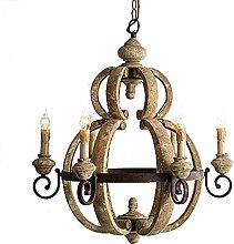HLL Household Chandeliers,Vintage Cottage Style