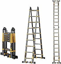 HLL Ladders,Stairs Telescoping Ladder Aluminum