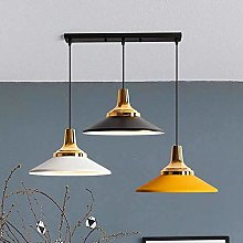 HLL Modern Industrial Pendant Lighting E Metal