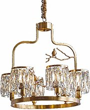HLL Modern Led Crystal Chandelier Lighting Flush
