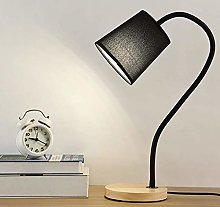 HLL Novelty Lamps,Desk Lamp with Fabric Lampshade