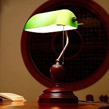 HLL Novelty Lamps,Vintage Green Cover Desk Lamp