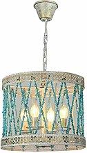 HLL Pendant Lights,Chandelier Shades Green,