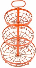HLL Plant Stands,Home 3 Tier Fruit Basket Stand,