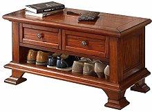 HLL Shoe Rack,Hallway Solid Wood Shoe Cabinet,