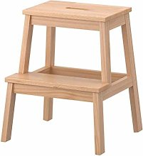 HLL Step Stools,Solid Wood Stool Adult Small Bench