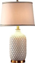HLL Table Lamps,Bedside Table Lamp Modern Ceramic