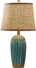 HLL Table Lamps,Bedside Table Lamp Retro Style