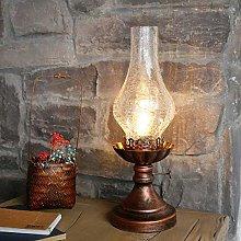 HLL Table Lamps,Country Retro Loft Kerosene Lamp
