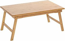 HLL Tables,Folding Table Computer Desk Bed with