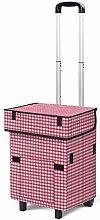 HLL Trolleys,Reusable Trolley Shopping Bag Folding