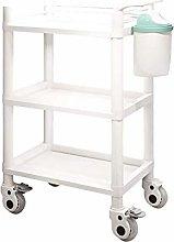 HLL Trolleys,Serving Cart Trolley, 3-Shelf Trolley