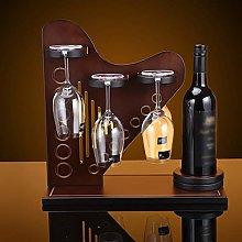 HLL Wine Racks,Harp Styling Woody Creative Wine
