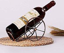 HLL Wine Racks,Iron Art Creative Fashion Wine