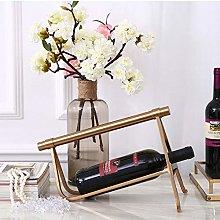 HLL Wine Racks,Iron Art Modern Simplicity Wine
