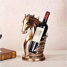 HLL Wine Racks,Resin Creative Shape Wine Cabinet