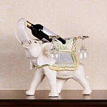 HLL Wine Racks,Resin Elephant Shape Creative Wine