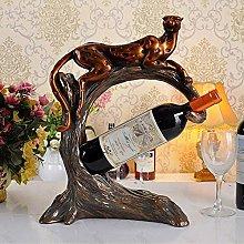 HLL Wine Racks,Resin Shape Creative Living Room