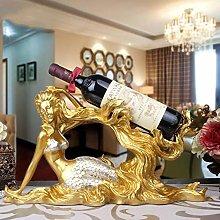 HLL Wine Racks,Resin Shape Creative Modern