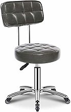 HLR Barstools PU Leather Cushioned Computer Office