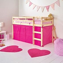 HLS Tent for SHORTY Midsleeper Bed - Pink