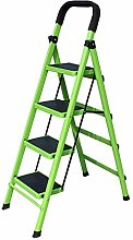 HLWJXS Ladder Fold Ladders Stairs Climb The