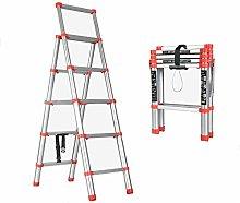 HLWJXS Ladder Household Stepladder Indoor