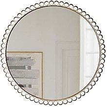 HLWJXS Mirror Bathroom Wall Mounted Makeup Mirror