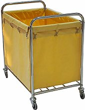 HLWJXS Trolley Hotel Laundry Sorter Cart on Wheels