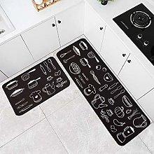 HLXX Kitchen Mat Carpets Set Kitchen Rugs