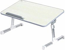 HLY Lazy Table, Computer Desk Foldable Desk,