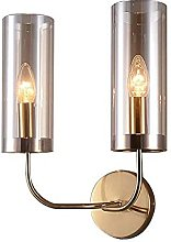 HLY Nordic Style Chandelier,Blue Glass Wall