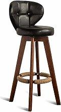 HLYT-0909 Bar Stool Chair Upholstered Footrest