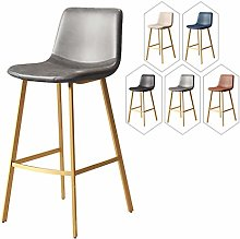 HLYT-0909 Breakfast Bar Stool with Faux Leather