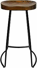 HLYT-0909 Wooden Bar Stool Dining Chair with Black