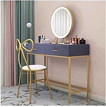 HLZY Vanity Desk for Bedroom Home Decor Chair