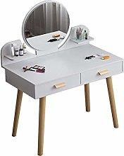 HLZY Vanity Desk for Bedroom Home Decor Compact