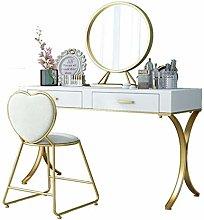 HLZY Vanity Desk for Bedroom Home Decor Dressing