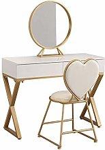 HLZY Vanity Desk for Bedroom Home Decor Girls