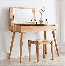HLZY Vanity Desk for Bedroom Home Decor Modern