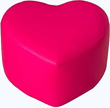 HM&DX Pu Leather Foot Stool Low, Creative
