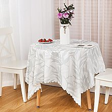 HM&DX PVC Waterproof Tablecloth Oil free Wipeable