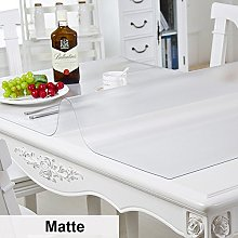 HM&DX Transparent Tablecloth Waterproof Oil-free