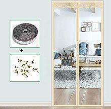 HMHD Magnetic Screen Door, Full Frame V-elcro Air